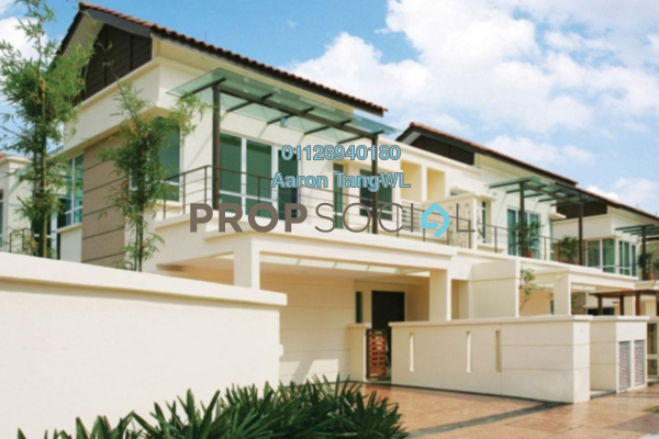 Semi-Detached For Sale in Idaman Villas, Tropicana Freehold Semi Furnished 4R/5B 2.6m