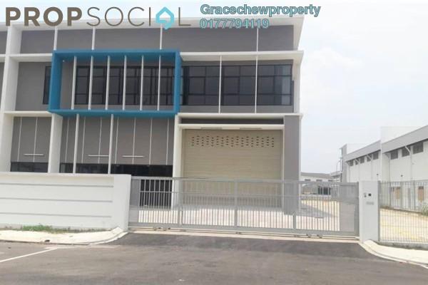 Factory For Rent in Taman Perindustrian Cemerlang, Ulu Tiram Freehold Semi Furnished 0R/0B 8.5k