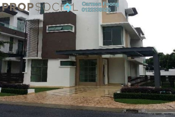 Bungalow For Sale in Temasya Industrial Park, Temasya Glenmarie Freehold Semi Furnished 5R/5B 4.6m