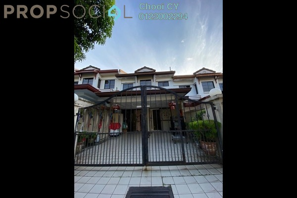 For Sale Terrace at Bandar Damai Perdana, Cheras South Freehold Semi Furnished 4R/3B 488k