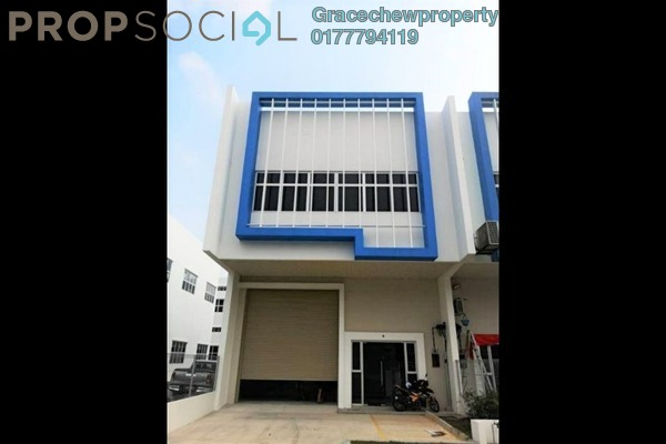 Factory For Rent in Taman Perindustrian Cemerlang, Ulu Tiram Freehold Unfurnished 0R/0B 4.5k
