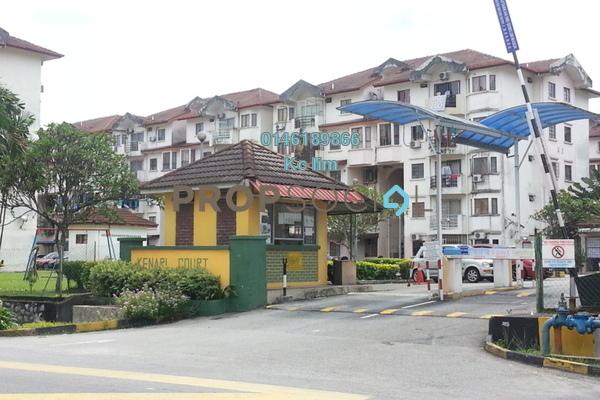 Apartment For Sale in Kenari Court, Pandan Indah Freehold Unfurnished 3R/2B 280k