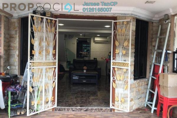 Terrace For Sale in Taman Castlefield, Sungai Besi Freehold Semi Furnished 3R/2B 468k