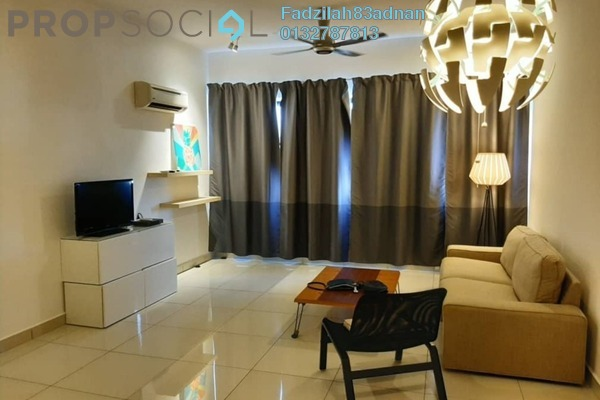 For Rent Condominium at Cyberia Crescent 1, Cyberjaya Freehold Fully Furnished 3R/2B 1.6k