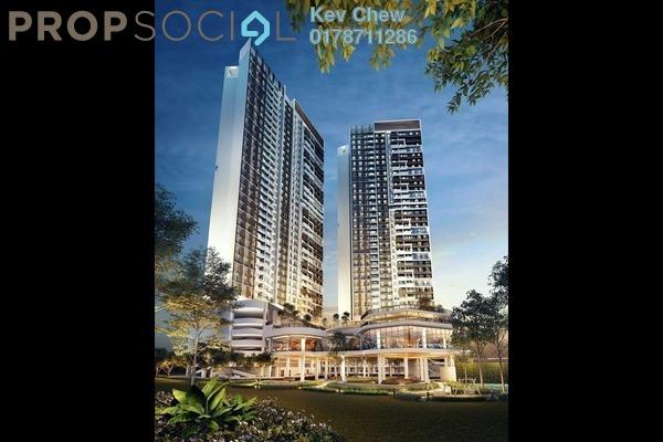 Condominium For Sale in Panorama Residences, Kelana Jaya Freehold Semi Furnished 2R/1B 600k