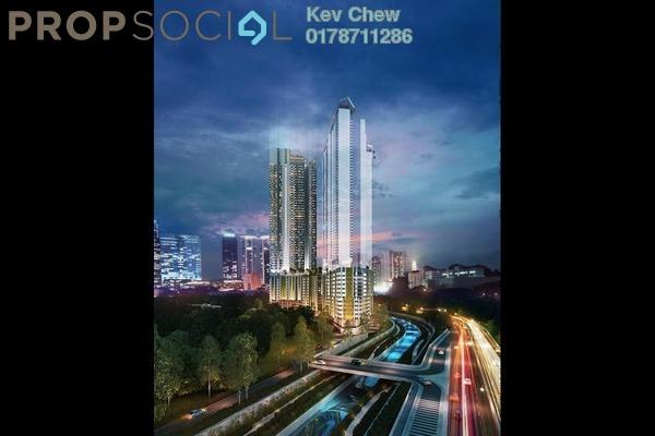 For Sale Condominium at Riveria City, Brickfields Freehold Semi Furnished 1R/1B 300k