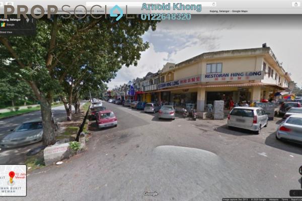 Shop For Sale in Taman Bukit Mewah, Johor Bahru Freehold Semi Furnished 0R/0B 697k