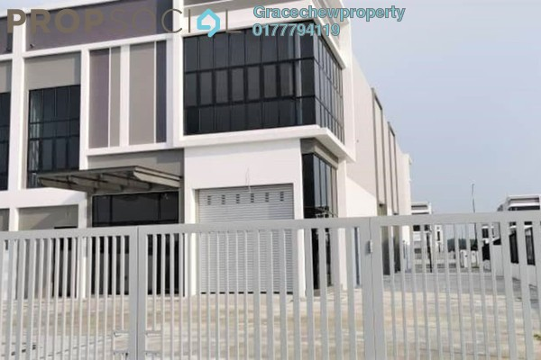 Factory For Rent in Eco Business Park II, Senai Freehold Unfurnished 0R/0B 5k