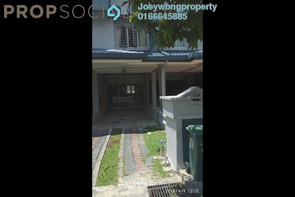 Townhouse For Rent in Bukit OUG Townhouse, Bukit Jalil Freehold Semi Furnished 3R/3B 1.7k