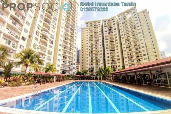 For Sale Condominium at Prima Setapak I, Setapak Freehold Unfurnished 3R/2B 365k