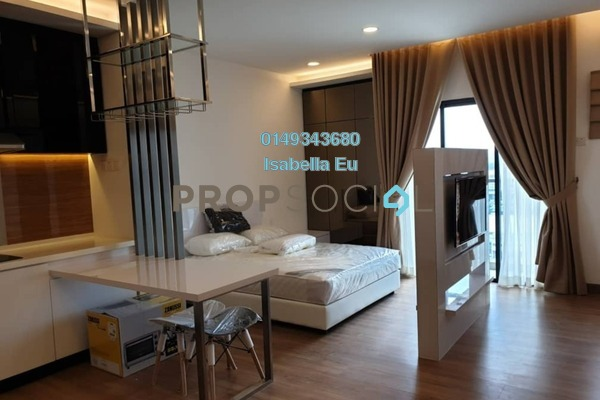 Serviced Residence For Rent in Symphony Tower, Balakong Freehold Fully Furnished 1R/1B 1.2k