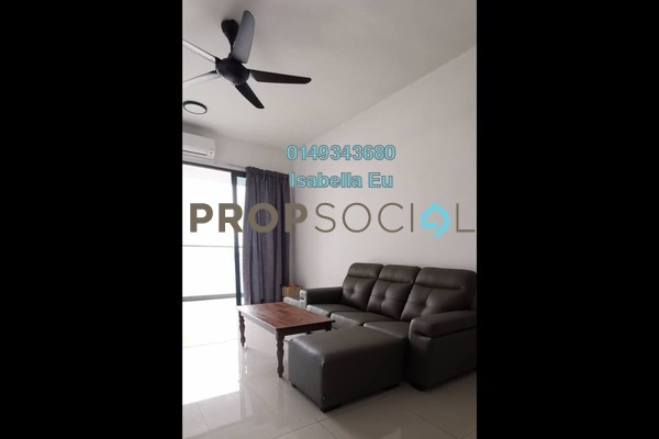 Serviced Residence For Rent in Symphony Tower, Balakong Freehold Fully Furnished 3R/2B 1.5k