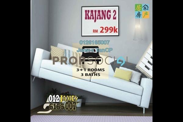 Condominium For Sale in Reko Sentral, Kajang Freehold Unfurnished 4R/3B 299k