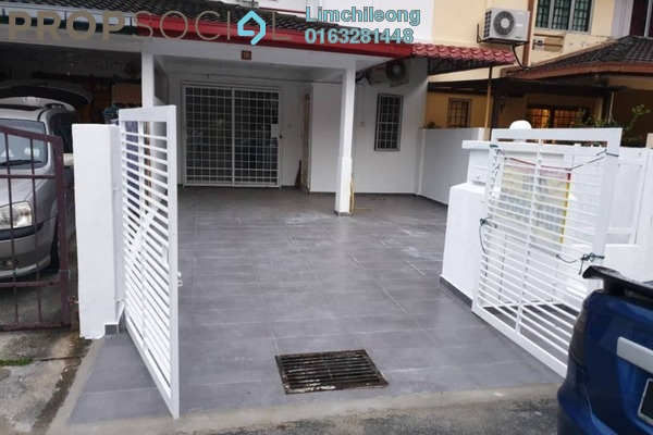 Terrace For Sale in PU10, Bandar Puchong Utama Freehold Semi Furnished 4R/3B 455k