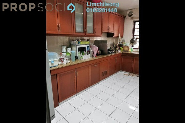 Terrace For Sale in PU6, Bandar Puchong Utama Freehold Semi Furnished 4R/3B 505k