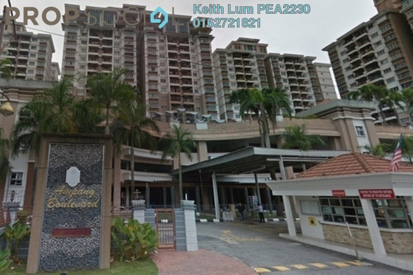 For Sale Condominium at Ampang Boulevard, Ampang Freehold Semi Furnished 3R/2B 390k
