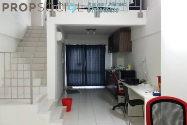 Duplex For Sale in Axis SoHu, Pandan Indah Freehold Semi Furnished 1R/2B 310k