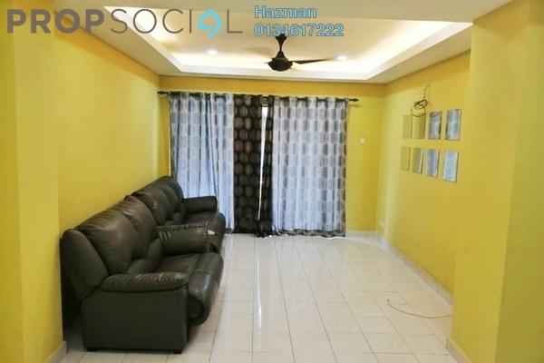 Condominium For Sale in Mount Karunmas, Balakong Leasehold Semi Furnished 3R/2B 280k