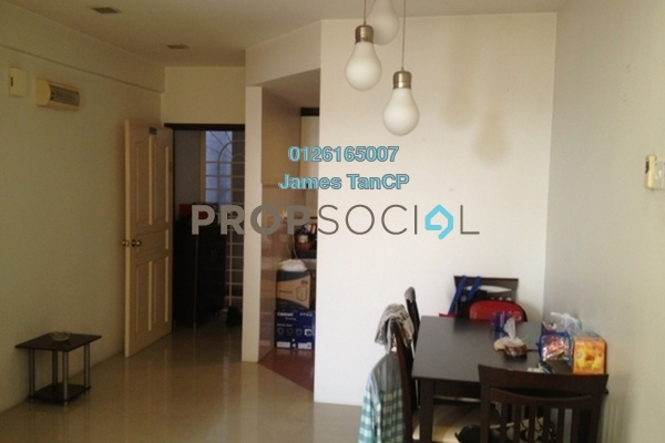 Apartment For Sale in Taman Bukit Cheras, Cheras Freehold Semi Furnished 2R/1B 200k