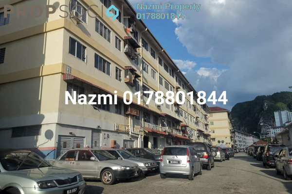Apartment For Sale in Laksamana, Batu Caves Leasehold Unfurnished 3R/1B 155k