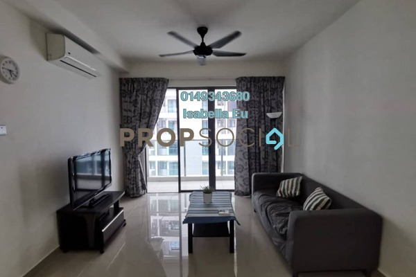 Serviced Residence For Rent in Amerin Mall & Residence, Balakong Freehold Fully Furnished 2R/2B 1.4k