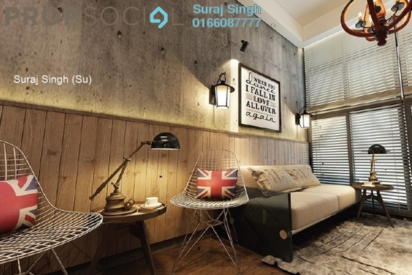Serviced Residence For Sale in USJ 1, UEP Subang Jaya Freehold Semi Furnished 0R/1B 153k