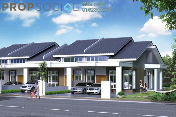 For Sale Terrace at Bandar Springhill, Sendayan Freehold Unfurnished 3R/2B 280k