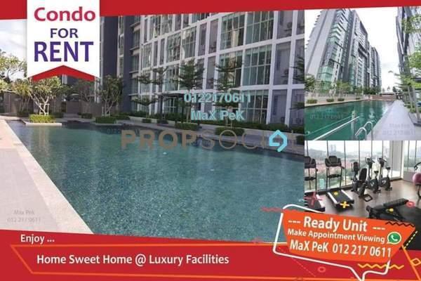 For Rent SoHo/Studio at 3Elements, Bandar Putra Permai Freehold Semi Furnished 1R/1B 1.15k