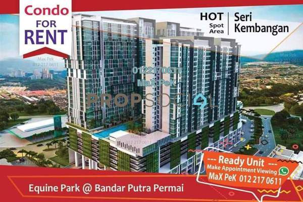 For Rent SoHo/Studio at 3Elements, Bandar Putra Permai Freehold Semi Furnished 1R/1B 950translationmissing:en.pricing.unit