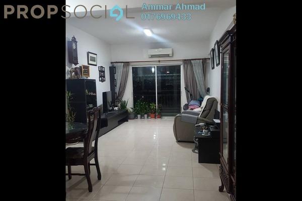 For Sale Condominium at Ampang Boulevard, Ampang Leasehold Semi Furnished 3R/2B 498k