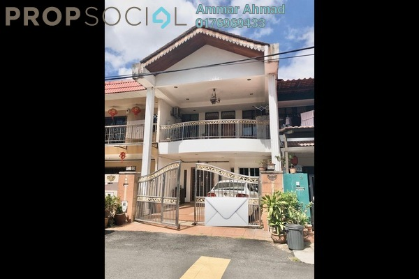 Terrace For Sale in Taman Maju Jaya, Pandan Indah Freehold Semi Furnished 5R/3B 690k