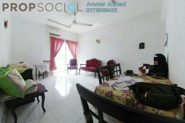 Condominium For Sale in Fawina Court, Ampang Freehold Semi Furnished 2R/2B 299k