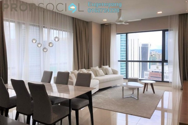 Condominium For Rent in Aria, KLCC Freehold Fully Furnished 2R/2B 7.5k