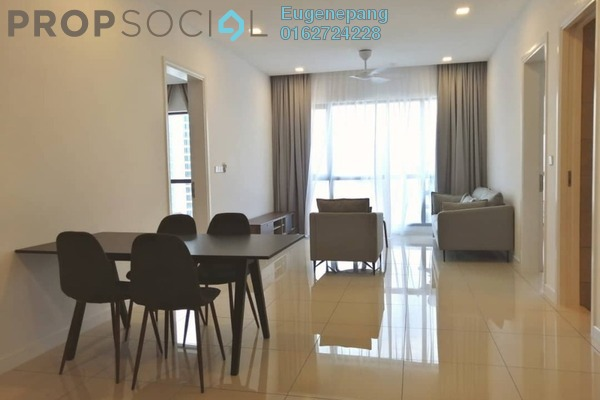 Condominium For Rent in Aria, KLCC Freehold Fully Furnished 2R/2B 5.5k