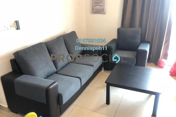 Condominium For Rent in Austin Suites, Tebrau Freehold Fully Furnished 2R/2B 1.5k