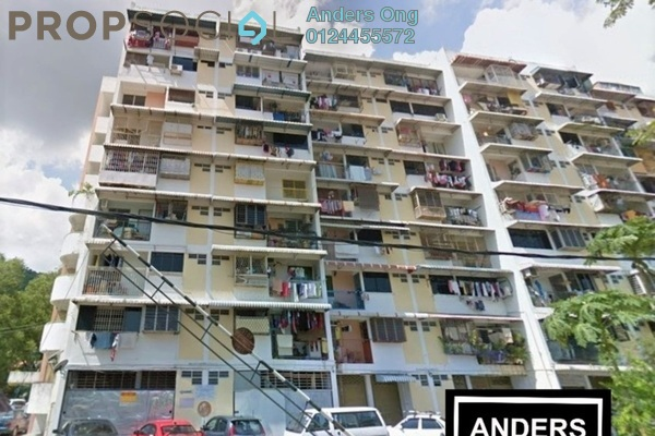 Apartment For Sale in Taman Lip Sin, Sungai Nibong Freehold Semi Furnished 2R/2B 320k