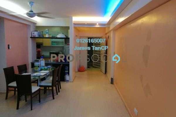 Condominium For Sale in Jasmine Towers, Petaling Jaya Freehold Semi Furnished 3R/2B 718k