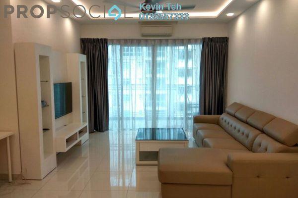 For Rent Condominium at Ceriaan Kiara, Mont Kiara Freehold Fully Furnished 4R/3B 4.5k