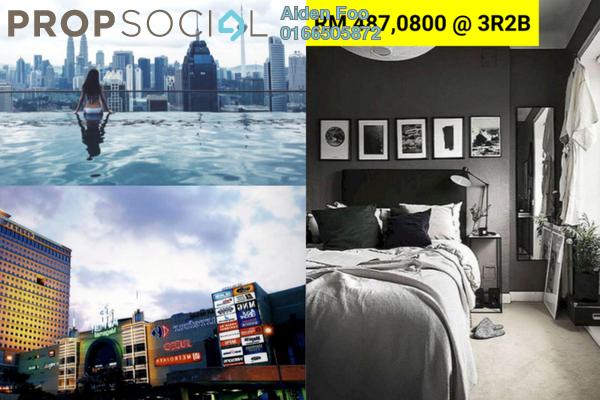 Condominium For Sale in Platinum Arena, Old Klang Road Freehold Semi Furnished 3R/2B 497k