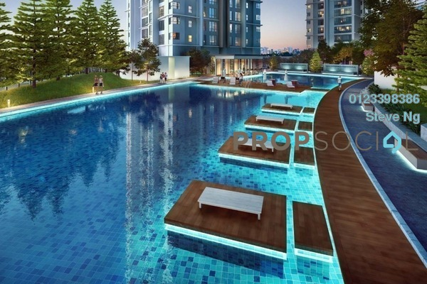 For Sale Condominium at D'Rapport Residences, Ampang Hilir Freehold Unfurnished 0R/0B 1.4m