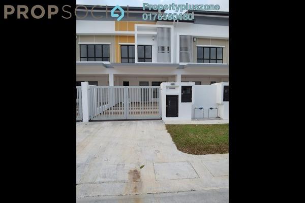 For Rent Terrace at Setia Impian, Setia Alam Freehold Semi Furnished 3R/3B 1.4k
