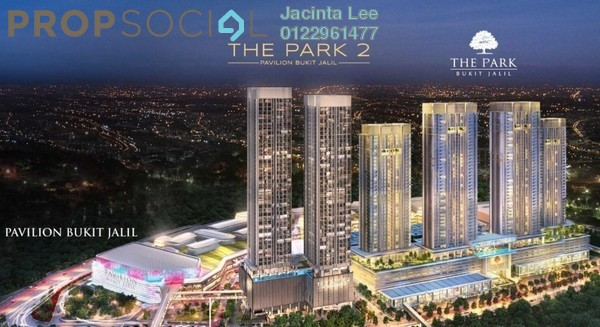 Serviced Residence For Sale in The Park Sky Residence @ Bukit Jalil City, Bukit Jalil Freehold Semi Furnished 2R/2B 567k