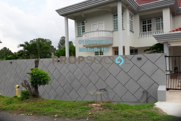 For Rent Bungalow at Jalan Straits View, Johor Bahru Freehold Semi Furnished 8R/8B 8k