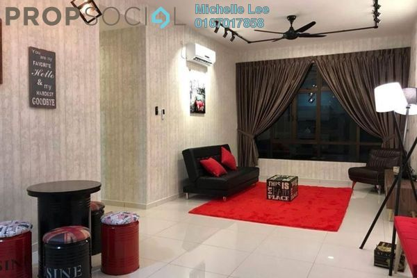 Serviced Residence For Rent in D'Summit Residences, Skudai Freehold Fully Furnished 3R/2B 1.5k