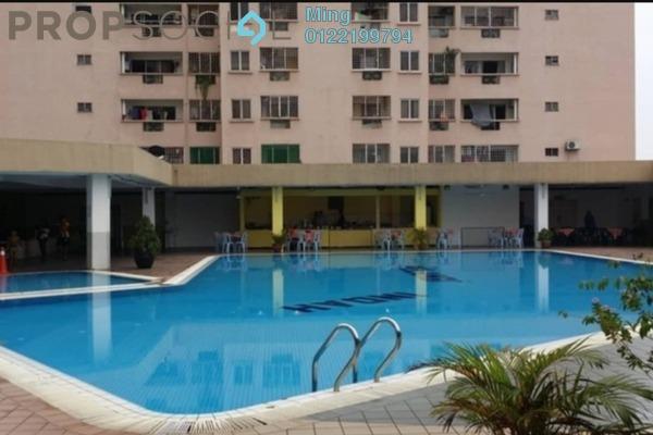 Condominium For Rent in Pelangi Indah, Jalan Ipoh Freehold Semi Furnished 3R/2B 1.1k