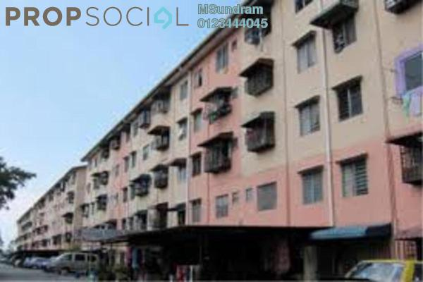Apartment For Sale in Flat Puchong Permai, Puchong Freehold Unfurnished 3R/1B 90k