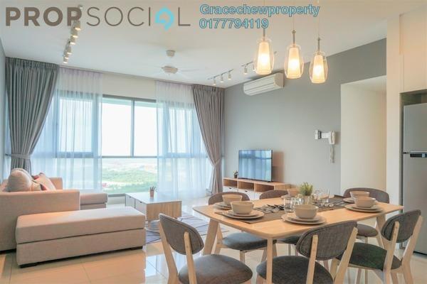 Condominium For Rent in Iskandar Residences, Medini Freehold Fully Furnished 3R/2B 3k