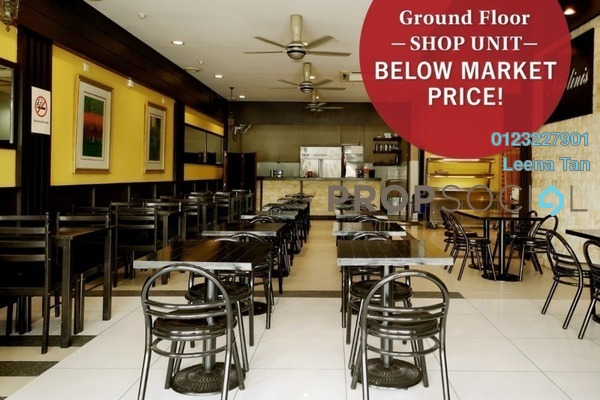 Shop For Sale in Merchant Square, Tropicana Freehold Semi Furnished 0R/2B 800k