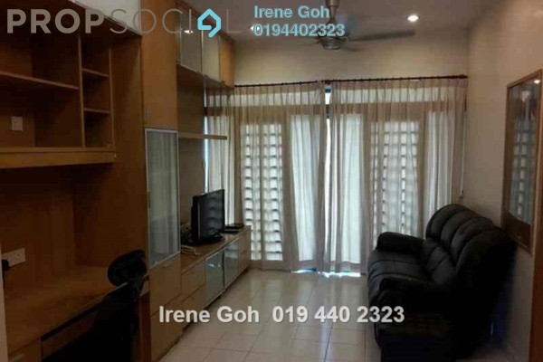 For Rent Condominium at Tanjung Park, Tanjung Tokong Freehold Fully Furnished 3R/2B 1.5k