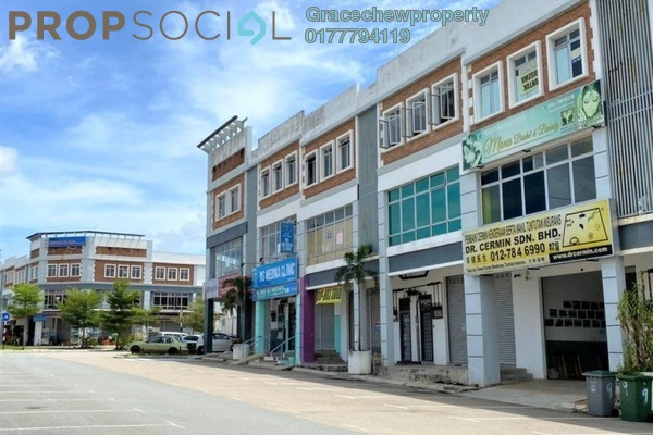 Shop For Rent in Nusa Sentral, Iskandar Puteri (Nusajaya) Freehold Unfurnished 0R/0B 3.5k